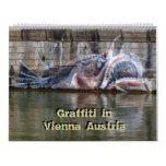 Pintada en Viena Austria 24 calendarios del mes