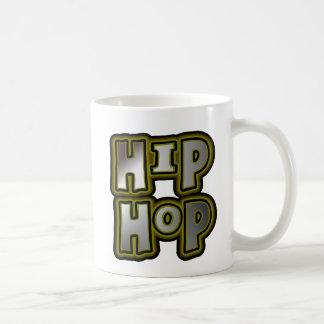 Pintada grande multicolora, efectos de Hip Hop del Taza De Café