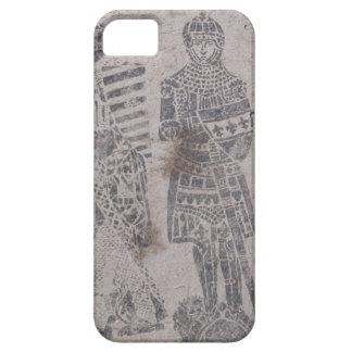 Pintada medieval de los caballeros iPhone 5 Case-Mate coberturas