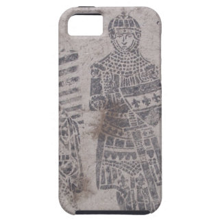 Pintada medieval de los caballeros iPhone 5 carcasa