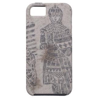 Pintada medieval de los caballeros iPhone 5 funda