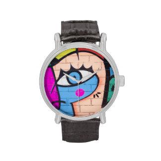 """Pintada """"ojo """" relojes de mano"""