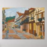 Pintada: paisaje francés - posters