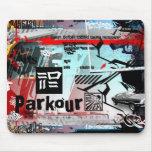 pintada Parkour Alfombrillas De Ratones
