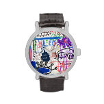 pintada relojes de mano