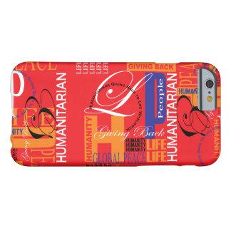 Pintada roja humanitaria funda barely there iPhone 6