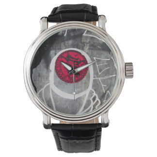 Pintada roja y negra, Toronto Relojes De Mano