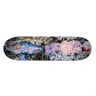 Pintada romana skate board