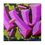 Pintada rosada tejas  ceramicas