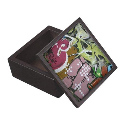 Pintada suiza cajas de recuerdo de calidad