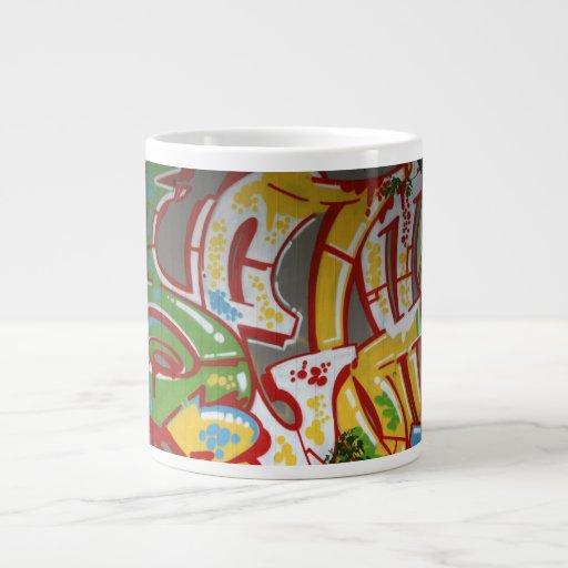Pintada suiza taza extra grande