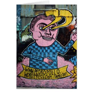 Pintada taiwanesa, Taipei, Taiwán Tarjeta De Felicitación