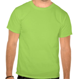 Pintada verde de Rase Camiseta