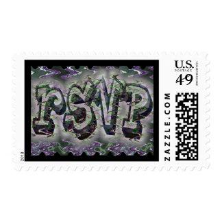 Pintada virtual RSVP Estampillas