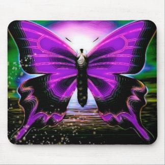 Pintadas de la mariposa alfombrillas de ratón