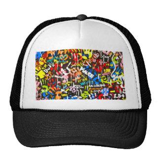 pintadas enrrolladas gorras