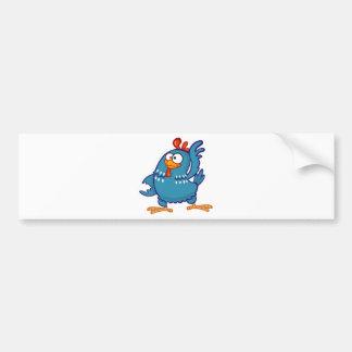 Pintadinha hen bumper sticker