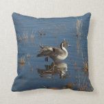 Pintail Duck Bird Pillow