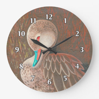 Pintail Duck Painting Wall Clock