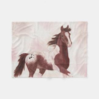 Pintaloosa Horse fleece