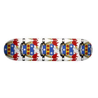 Pintard Family Crest Skateboards