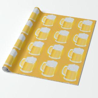 Pintas espumosas del modelo de oro de las tazas de papel de regalo