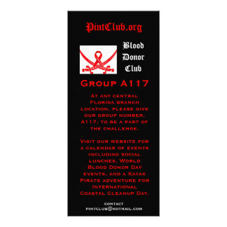 PintClub flyer card