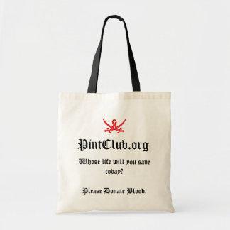 PintClub Tote Bags