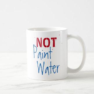 Pinte el agua de la pintura del agua NO para el Taza De Café