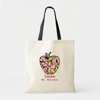 Pinte el bolso del profesor de Apple de la salpica Bolsa De Mano