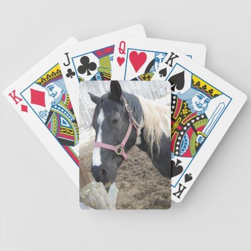 Pinte el caballo del Pinto Cartas De Juego