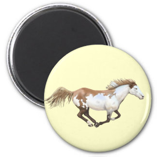 Pinte el caballo, Dixie Iman Para Frigorífico