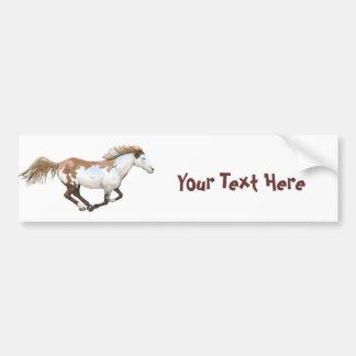 Pinte el caballo, Dixie Pegatina Para Auto