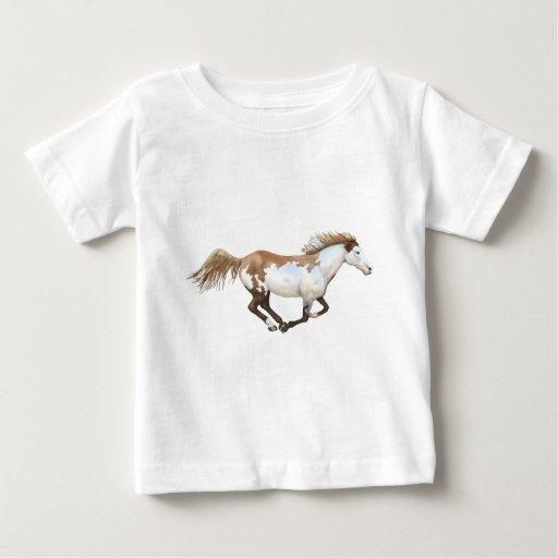 Pinte el caballo, Dixie Playera De Bebé