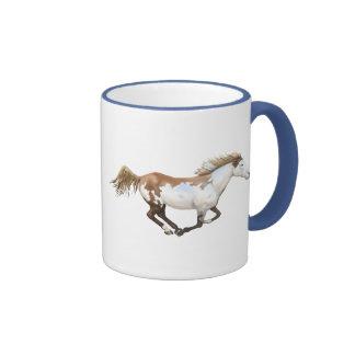 Pinte el caballo, Dixie Taza De Dos Colores