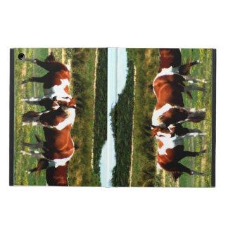 Pinte el caso de IPad de los caballos