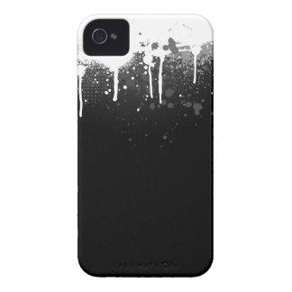 Pinte el caso del goteo Case-Mate iPhone 4 cárcasas