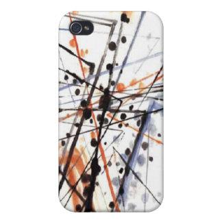 pinte el caso del iphone 4/4s del colourfull iPhone 4 fundas