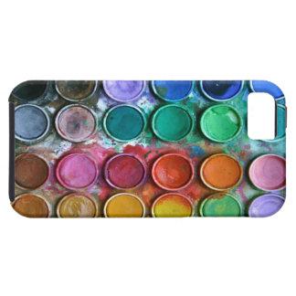 Pinte el caso del iPhone 5 de la caja de color Funda Para iPhone SE/5/5s
