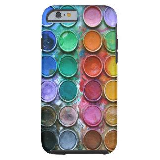 Pinte el caso del iPhone 6 de la caja de color