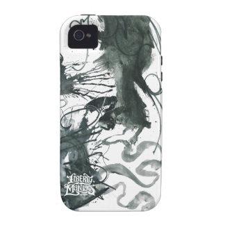 Pinte el chapoteo Case-Mate iPhone 4 carcasas