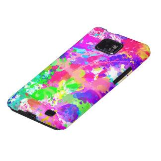 Pinte el chapoteo colorido galaxy s2 carcasa