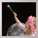 Pinte el cielo con las estrellas posters