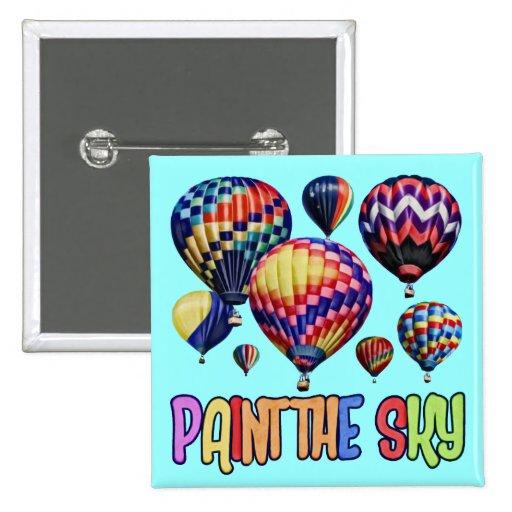 Pinte el cielo pin