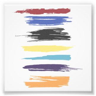 Pinte el color abstracto artístico de los movimien foto