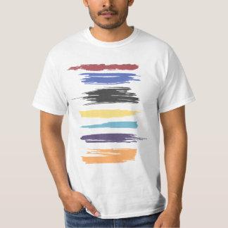 Pinte el color abstracto artístico de los playera
