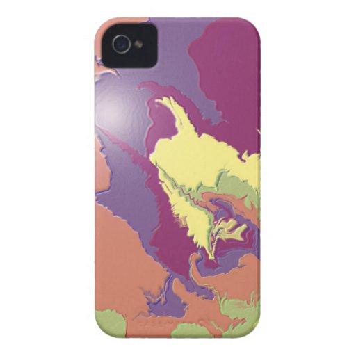 Pinte el derramamiento iPhone 4 Case-Mate cárcasas