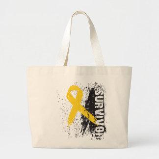 Pinte el diseño del chapoteo - superviviente del c bolsas