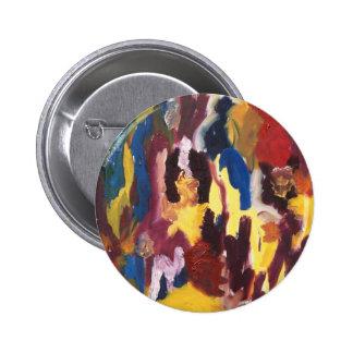Pinte el extracto de la paleta pin redondo 5 cm