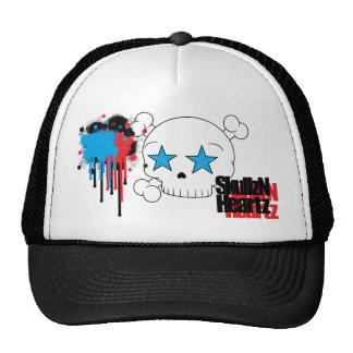 pinte el gorra del camionero del skullzNheartz de